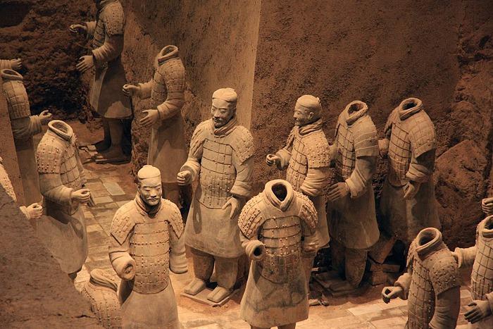 Терракотовая армия первого императора Китая в Сиане 43140