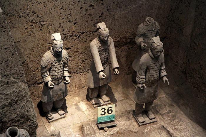 Терракотовая армия первого императора Китая в Сиане 76308