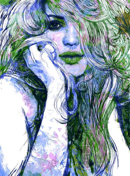 Цифровые иллюстрации художника Ladislav Hubert