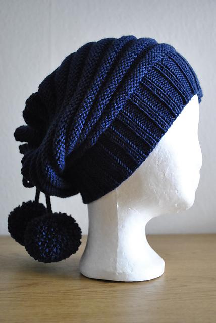 """针织帽子:""""显"""" - maomao - 我随心动"""