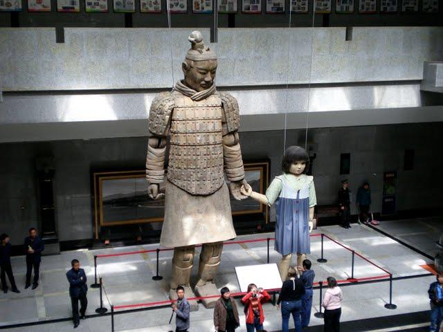 Терракотовая армия первого императора Китая в Сиане 37930