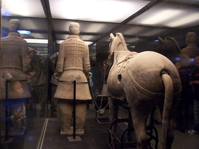 Терракотовая армия первого императора Китая в Сиане 39942