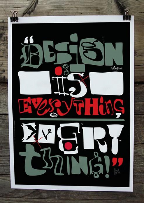 Художественная и живая типографика