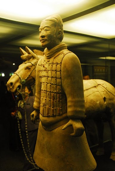 Терракотовая армия первого императора Китая в Сиане 50773