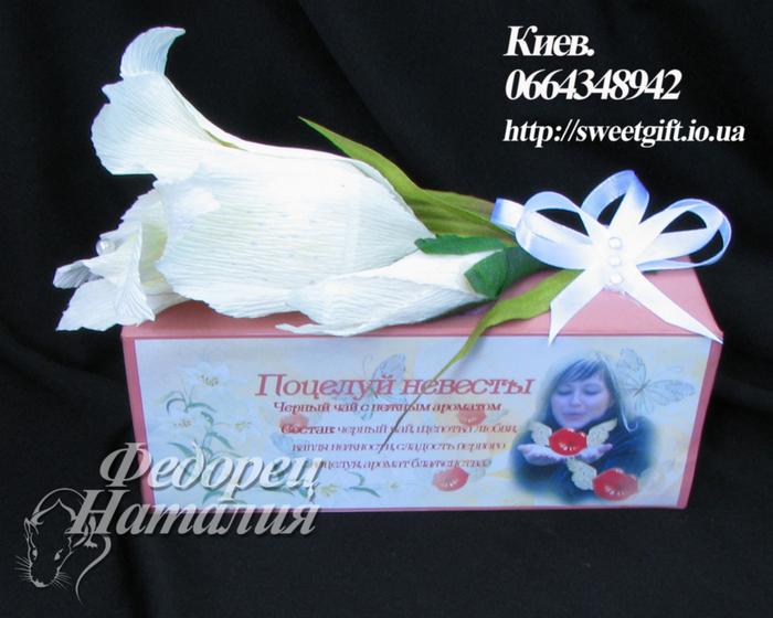 Подарки гостям на свадьбе чай 19