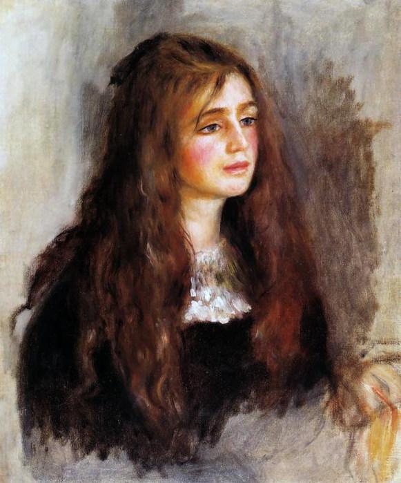Julie  Manet - Auguste Renoir (581x700, 104Kb)