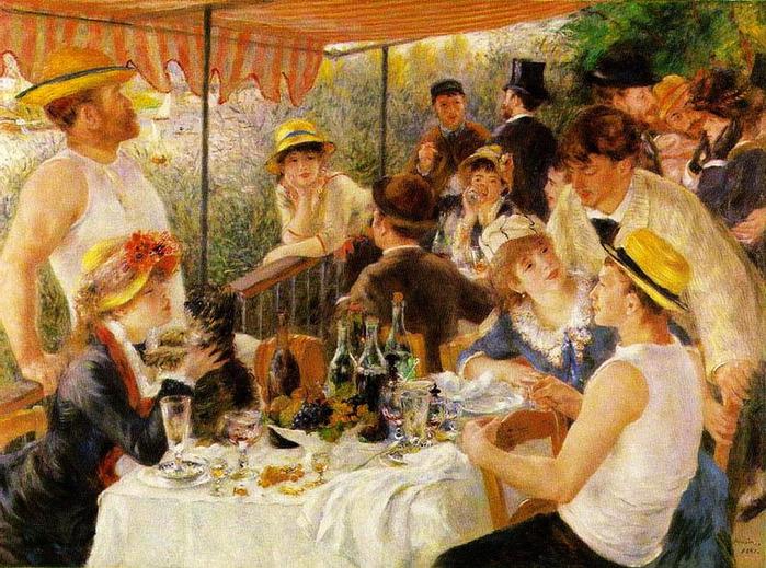 Завтрак гребцов 1881 (700x519, 184Kb)