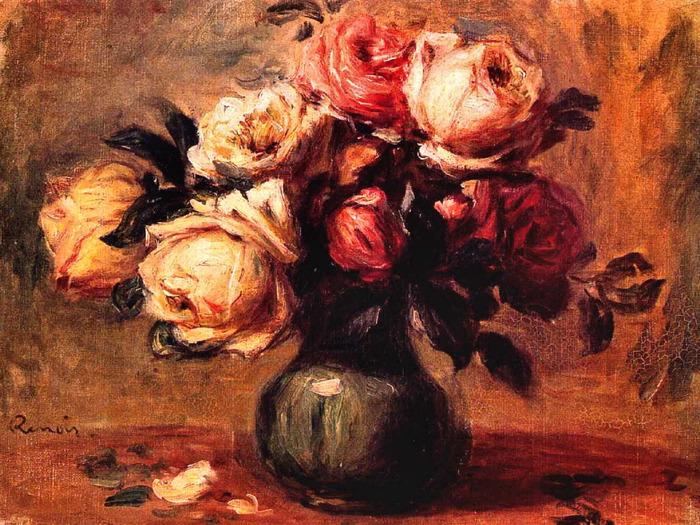 Roses in a Vase 1910 1917 (700x525, 180Kb)