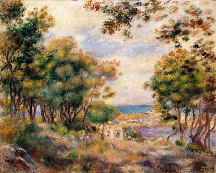 Пейзаж в Болье, Эрмитаж (700x561, 198Kb)