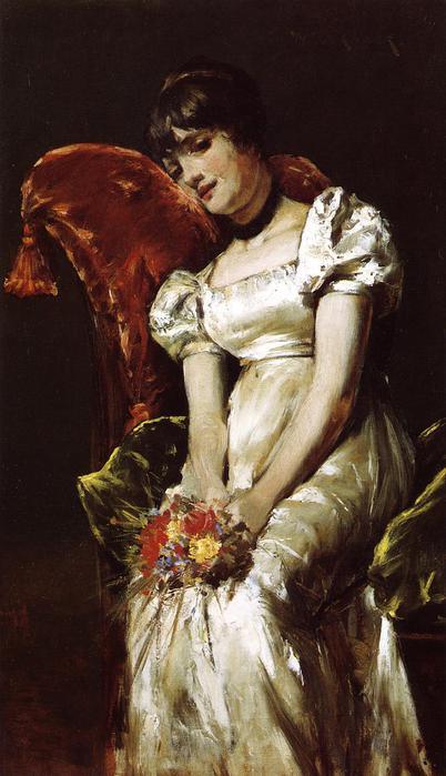 A Girl - 1885 (402x700, 47Kb)