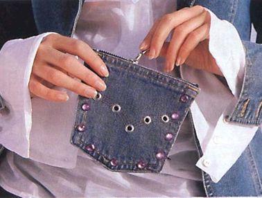как сшить сумку из старых джинсов пошаговое фото.