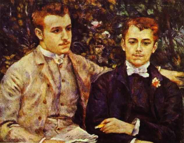 Pierre-Auguste Renoir - Charles and Georges Durand-Ruel (633x490, 56Kb)