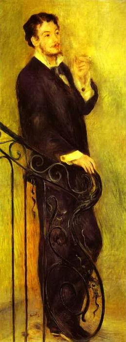 """Pierre-Auguste Renoir - Man on a Staircase (L""""Homme sur un escalier) (259x700, 66Kb)"""