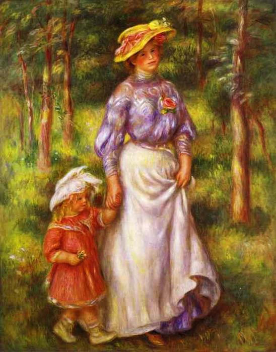 Pierre-Auguste Renoir - The Walk (548x700, 129Kb)