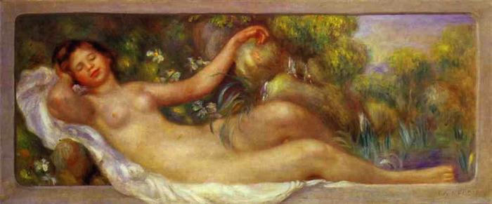 Pierre-Auguste Renoir - The Spring (700x291, 60Kb)
