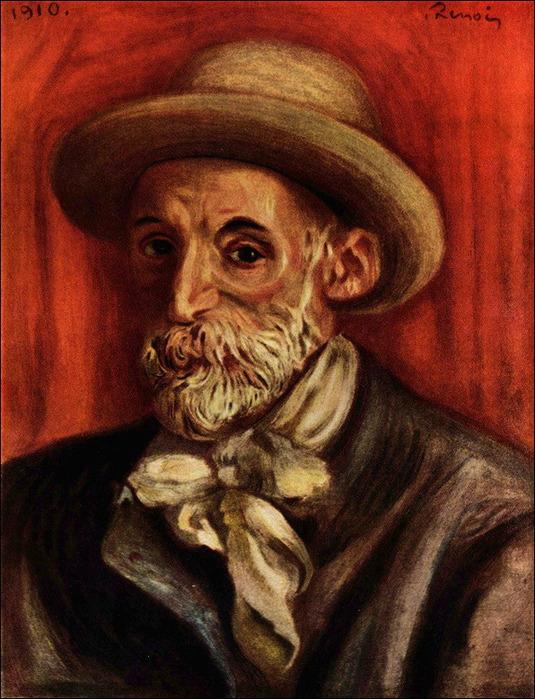 Автопортрет Ренуара 1910 (535x700, 154Kb)