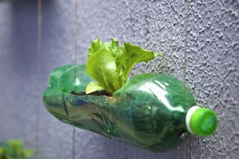 Используем пластиковые бутылки для