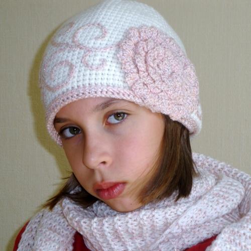 Схема вязания шапки: