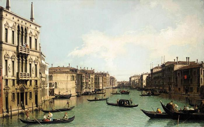 Giovanni_Antonio_Canal,_il_Canaletto_-_Venice_-_The_Grand_Canal,_Looking_North-East_from_Palazzo_Balbi_to_the_Rialto_Bridge_-_WGA03851 (700x436, 58Kb)