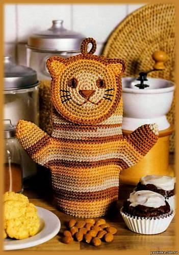 рукавичка-прихватка-кошка (351x500, 39Kb)