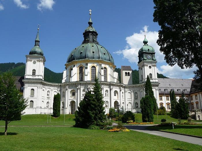 Монастырь Этталь (Kloster Ettal) 23810