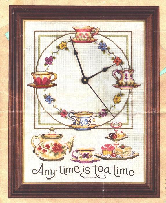 Reloj hora del té - Foto (573x700, 205Kb)