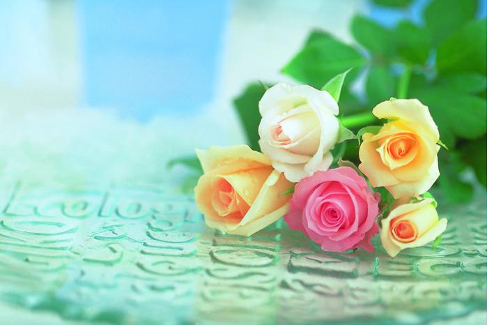 Картинки цветы анимашки блестяшки 7