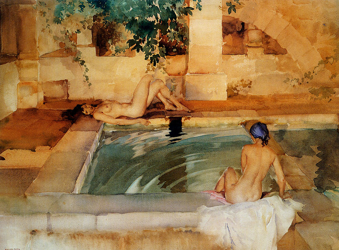 Sir William Russell Flint фл (700x517, 193Kb)