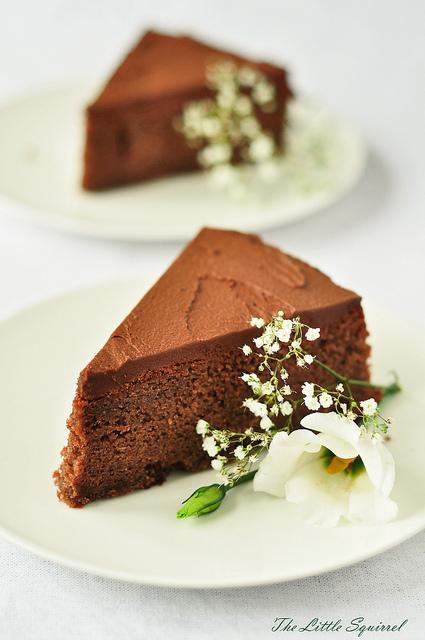 Шоколадный торт с колой по рецепту Дж. Мартина