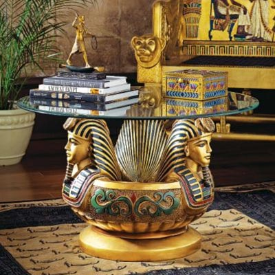 Интерьер квартиры в египетском стиле, Египетский стиль интерьера.