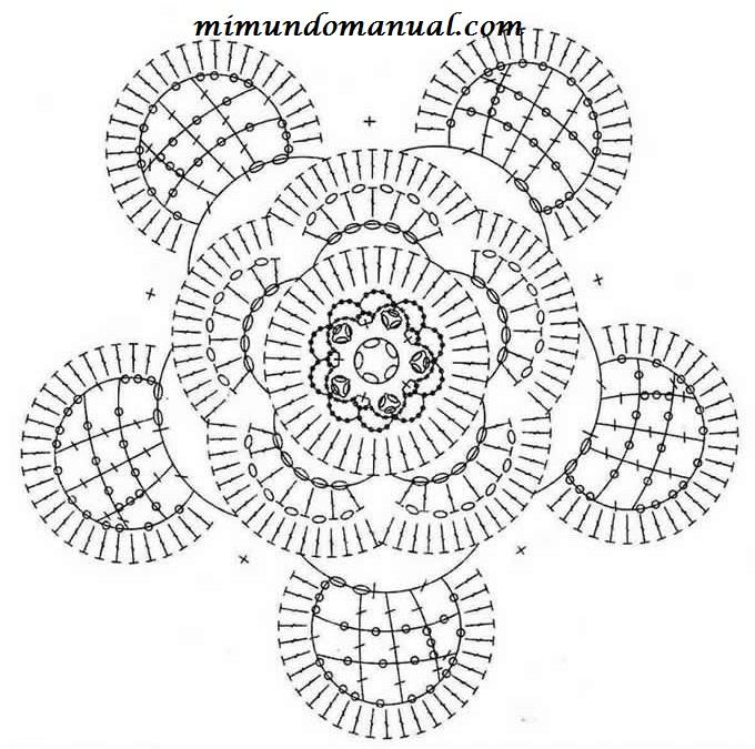 钩针基础:四种立体葵花 - maomao - 我随心动