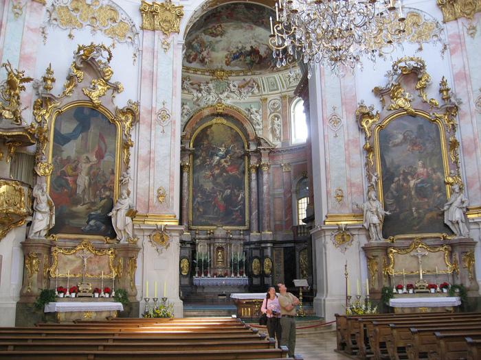 Монастырь Этталь (Kloster Ettal) 45667