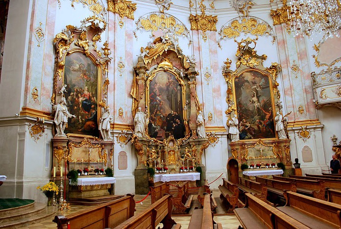 Монастырь Этталь (Kloster Ettal) 53414