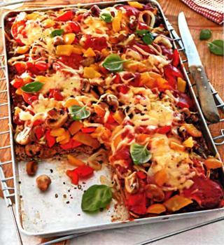 Пицца из рубленного мяса (320x350, 34Kb)