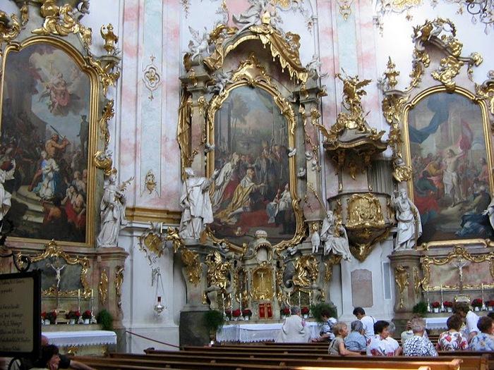 Монастырь Этталь (Kloster Ettal) 86196
