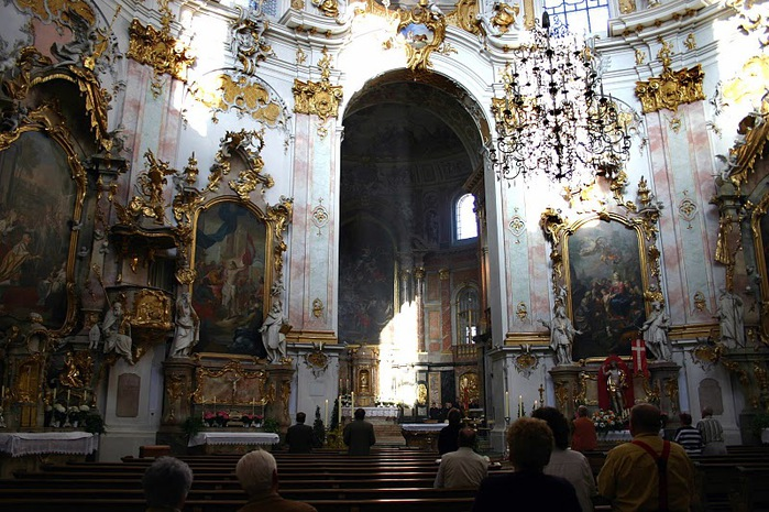 Монастырь Этталь (Kloster Ettal) 97227