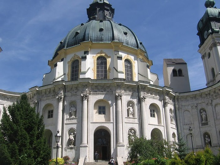 Монастырь Этталь (Kloster Ettal) 16857