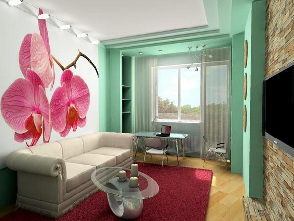 Дизайн кухни 8 кв.м с диваном фото