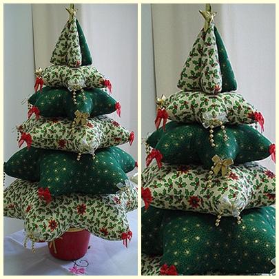 Новогодние игрушки своими руками Кусочек любой ткани и пуговицы могут превратиться с новогоднюю игрушку.