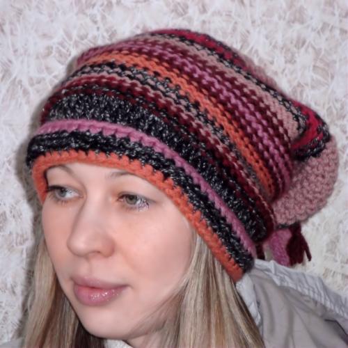 этой вязаной шапки Вам