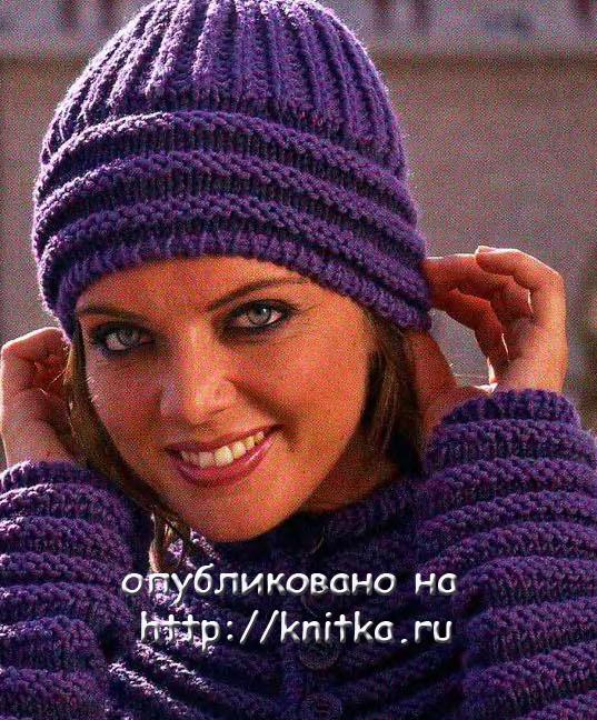 Вязание спицами. шапочки