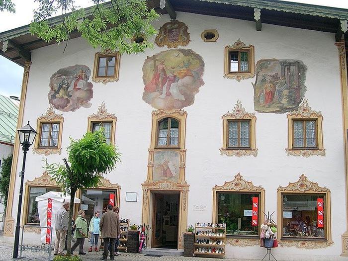 Обераммергау- маленькая деревушка с большой историей. 41712