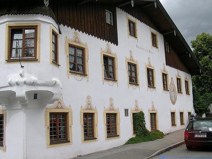 Обераммергау- маленькая деревушка с большой историей. 27706