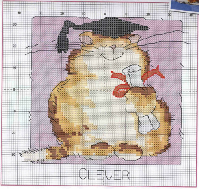margaret_sherry_-_calendar_2006_02fabruary_clever_cat__2_78305 (700x664, 507Kb)