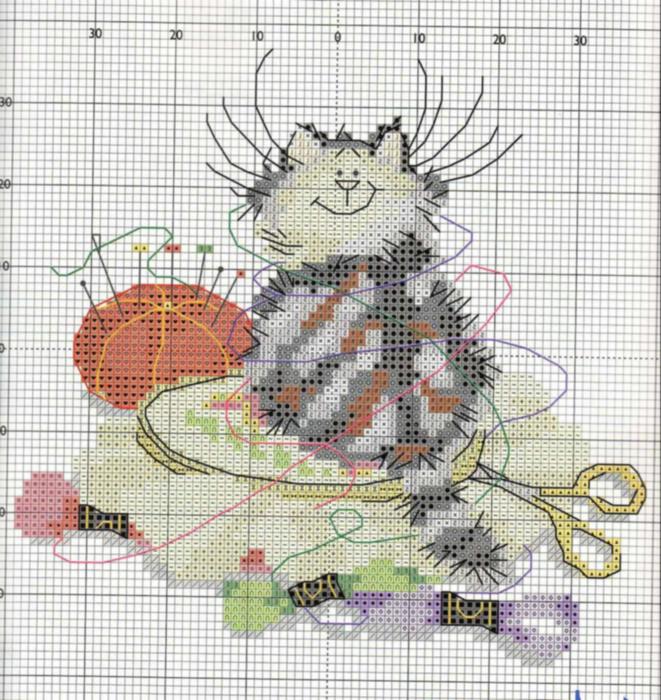 margaret_sherry_-_crafty_cat__3_914196 (661x700, 491Kb)