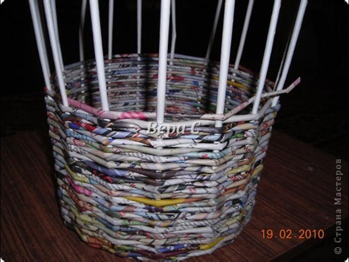 Плетение из бумаги своими руками для начинающих видео