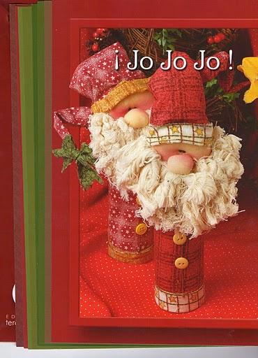 как сшить Дед Мороза