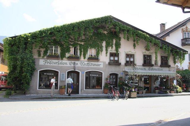 Обераммергау- маленькая деревушка с большой историей. 95878