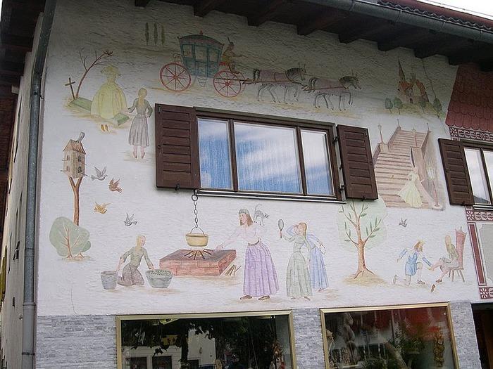 Обераммергау- маленькая деревушка с большой историей. 72998