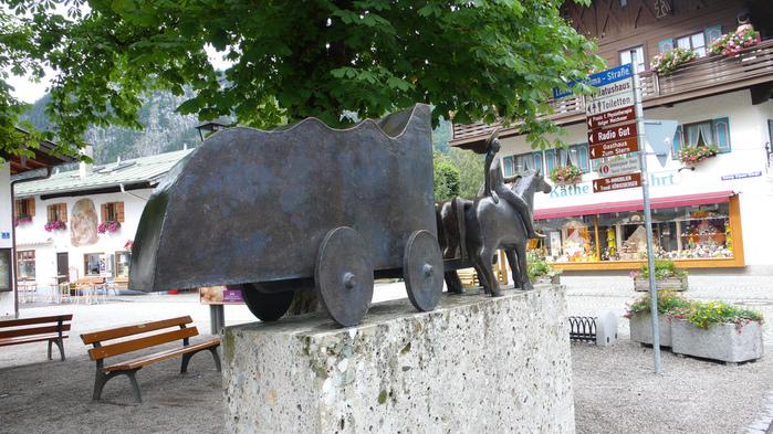 Обераммергау- маленькая деревушка с большой историей. 85677